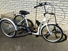 Mission Cycles 24 Low Step Tricycle Limited Edition White