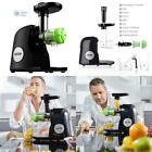 Slow Masticating Juice Extractor Maker Blender Vegetable Fruit Juicer Machine