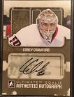 Corey Crawford 2012-13 Ultimate In the Game Autograph Auto Chicago Blackhawks