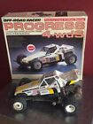 Vintage and Rare  - Off Road Racer PROGRESS 4 wds- 1:10 scale in original box