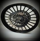 21 x 3.25 HARLEY DAVIDSON ROAD KING GLOSS BLACK LEGEND WHEEL ABS With ROTORS