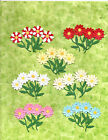 Quickutz EK Fiskars 8 Spring Flower Die Cut Sets Embellishments 10 Colors