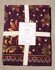 WILLIAMS SONOMA BERRY MEADOW TABLE RUNNER 18 X 108 FALL HARVEST LINENS