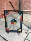 stained glass panels fire screen wall art  hand made Stained Glass Window