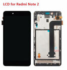 LCD Display Digitizer Touch Screen Sensor & Frame For Xiaomi Redmi Note 2
