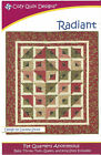 RADIANT Pattern Cozy Quilt Designs Fat Quarter Friendly Anonymous Baby King