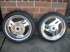 BUELL THUNDERBOLT S3 FRONT & REAR POLISHED RIM WHEEL TIRE SET WITH REAR ROTOR