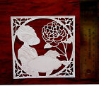 12 Tattered Lace CARD TOPPER die cut out Botanical Rose Tapestry Mothers Day