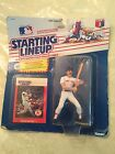 Starting Lineup Wade Boggs Boston Red Sox