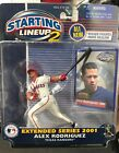 Starting Lineup 2 MLB Alex Rodriguez 2001 Rangers Figure Extended Series New