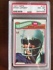 1977 Topps Steve Largent Rookie Card RC #177 PSA 8 Seattle Seahawks