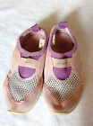 SHOES size 9 toddler girls TREDZ water shoes pink mesh sandals beach