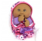 RARE LIMITED EDITION 2016 Dark Skin Cabbage Patch Kids Lil Swaddlers Style 1