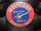 Oldsmobile Service Sales Sign Make a Date with a Rocket 8 New Design metal sign