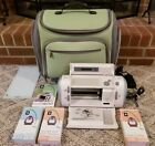 Cricut CRV001 Personal Cutting Machine w 3 Cartridges  Case CLEAN WORKS GREAT