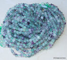 Green and Purple Fluorite Beads Round Polished Fluorite Beads 6mm 15 inch