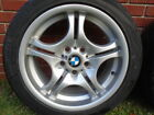 Authentic BMW FACTORY WHEELS 330i 4 17 STAGGERED SET with Tires