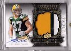 2008 Exquisite Collection #160 Jordy Nelson JSY AU RC 124 199 Green Bay Packers