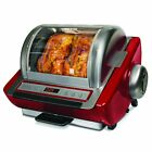 Compact Rotisserie BBQ Oven Chicken Turkey Precise Rotation Speed Digital Timer