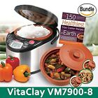 VitaClay VM7900-8 Smart Organic Multi-Cooker- A Rice Cooker Slow Cooker Digit...
