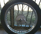 1972 Kawasaki G3SS 90CC Motorcycle Rear Wheel with Brake Bar and Lever