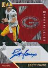 2016 UNPARALLELED BRETT FAVRE 2 5 RED AUTOGRAPH CARD AUTO GREEN BAY PACKERS