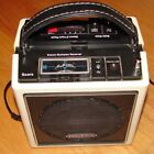 Sears portable 8 Track Cassette Player boom box that seperates for stereo