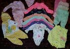 newborn girls baby clothes lot