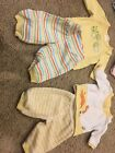 Gymboree Twin Preemie Baby Clothes Lot Will Fit Reborn Doll