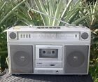 Yorx Portable Radio/8-Track/Cassette Player/Recorder #K6061+Tapes~Watch Video!