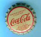 COCA COLA SODA BOTTLE CAP from MIDDLESBORO KENTUCKY Unused Cork Lining Cap
