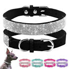 BlingBling Rhinestone Crystal Pet Dog Collars for Small Dogs Puppy Cat Chihuahua