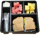 Multi Compartment Bento Box For Meal Prep 100 BPA FREE Best Lunch Food By