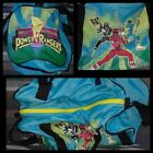 Vintage Mighty Morphin Power Rangers Gym Travel Carry-On Duffle Bag