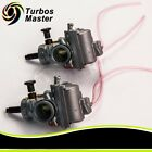 Two Carburetors Fit Yamaha Banshee YFZ350 YFZ 350 1987 2006 ATV Carbs 29mm 1992