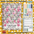 Food Diary WEIGHT WATCHERS Points Journal Planner Book 3mth Diet C21 MYDreams