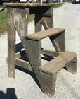 Neat Old Antique Primitive Steps Platform from Church Bell Tower