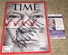 PRESIDENT DONALD TRUMP SIGNED TIME MAGAZINE MAKE AMERICAN GREAT AGAIN POTUS JSA