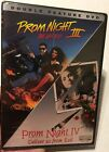 PROM NIGHT 3  4 Double Feature DVD Region 1