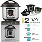 Electric Pressure Cooker Modern Slow Cook Programmable Cookware Pot Rice Steamer