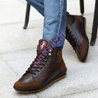 Soft Retro Mens Lace Up Warm Sport Sneaker High Top Shoes High Top Sneakers 11