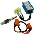 Performance Racing CDI Ignition Coil Spark Plug For Gy6 50 125 150cc Scooter ATV