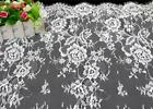 Bridal Lace Fabric Chantilly Eyelash Lace Floral Wedding Gown 59 3meterpiece