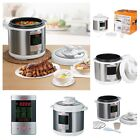 Programmable Electric Pressure Instant Cooking Pot Multi Use Cooker Cookware NEW