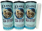 I Love Sea Otter85025 Refillable Tissue Tube with 1 Refill package