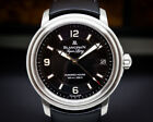 Blancpain 2100-1130A-71 Leman Aqualung Ultra Slim Automatic BOX + PAPERS