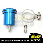 For Kawasaki Z750S 2004-2005 Blue Racing CNC Rear Brake Fluid Reservoir Tank