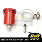 For Kawasaki Z750S 2004-2005 Red Racing CNC Rear Brake Fluid Reservoir Tank