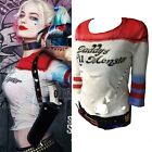 Halloween Harlei Quinn T-shirt Daddy's Lil Monster Suicide Squad Costume Cosplay