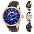 Lucien Piccard The Capital Retrograde Mens Watch - Choose color